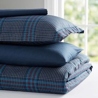 Stadium Plaid Deluxe Value Duvet Set