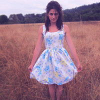 September Wildflower Love You Madly Dress // limited by nestarhys