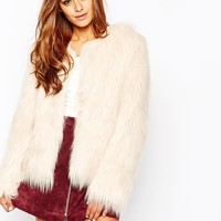 Missguided | Missguided Faux Fur Coat at ASOS