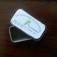 Patchouli & Rose Solid Perfume with Hemp Oil