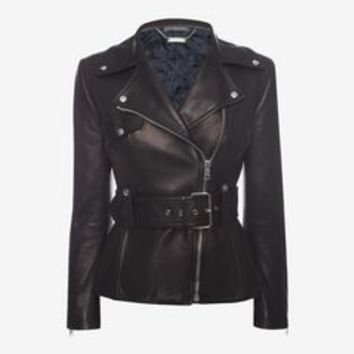 Lambskin Leather Jacket | Alexander McQueen