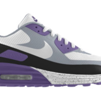 Nike Air Max 90 HYP Premium iD Custom Boys' Shoes 3.5y-6y - Purple