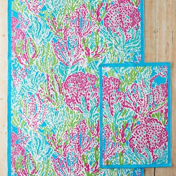 Lilly Pulitzer® Let's Cha Cha Cotton Printed Rug