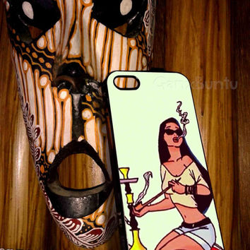 princess jasmine smoking For iphone 4/4s case, iphone 5/5s case,iphone 5c case, samsung s3 i9300 case, samsung s4 i9500 case in Ganxbuntu