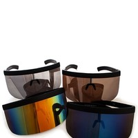 Retro Visor Sunglasses