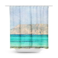 At Sea 2 Shower Curtain