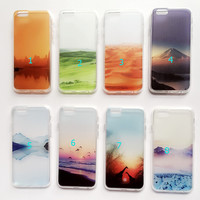 Travel Landscape Case Cover for iPhone 6 6s Plus Gift 230