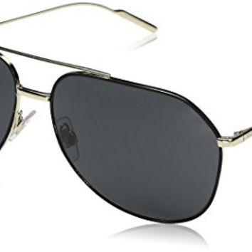 Armani Exchange Men's Metal Man Sunglass 0AX2012S Aviator Sunglasses