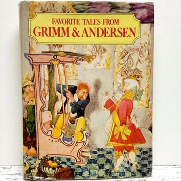 Grimm Fairy Tales, Andersen Fairy Tale Book, Fairytale Book, Home Staging, Photo Prop, Favorite Fary Tales, Childrens Stories Ephemera