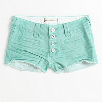 Exposed Button Color Shorts