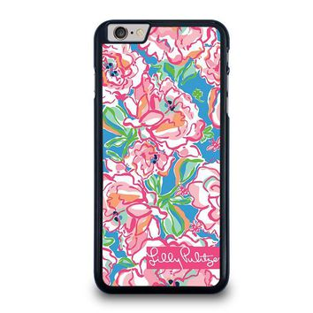 lilly pulitzer charms iphone 6 6s plus case cover  number 1