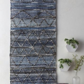 Cassidy Hanging Rug in Denim & Pale Blue design by Surya – BURKE DECOR