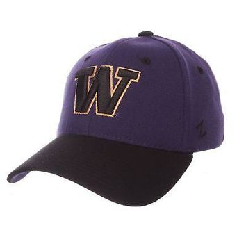 Licensed Washington Huskies Official NCAA ZH X-Small Hat Cap by Zephyr 281154 KO_19_1