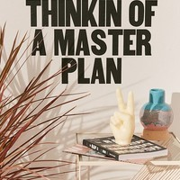 Thinking Of A Master Plan Wall Decal | Urban Outfitters