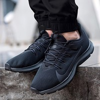 Nike Quest 3.0 Fashion New Hook Print Running Sports Leisure Shoes Men Black