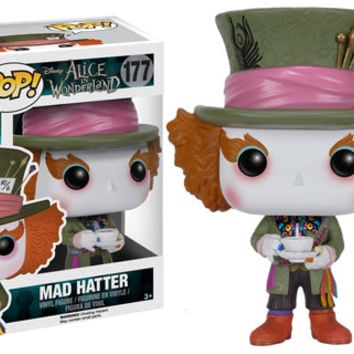Alice in Wonderland Funko POP! Disney Mad Hatter Vinyl Figure #177