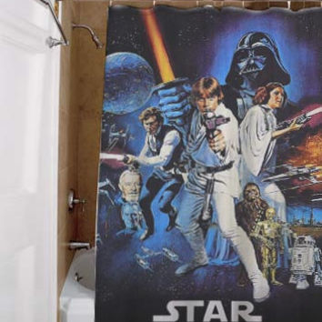 star wars, special custom, shower curtains, available size, amazing gift