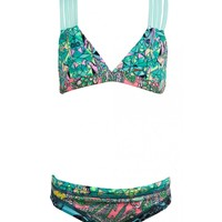 Maaji Girls Minty Madness Triangle Bikini Set | Sundance Beach