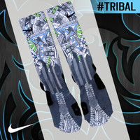 Custom Nike Elite Socks - Tribal | Lacrosse Unlimited