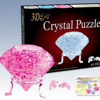 crystal puzzle model Diamond