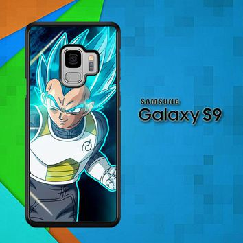 Vegeta Super Saiyan God Blue Z5039 Samsung Galaxy S9 Case
