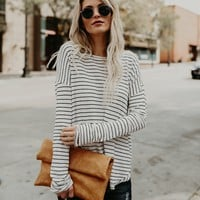 Well Loved Striped Knit Top