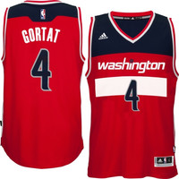 Marcin Gortat Washington Wizards adidas Replica Jersey - Red