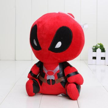 Deadpool Dead pool Taco 18cm Moive  Plush Toys Soft Stuffed Dolls plush pendant keychian Baby Gifts AT_70_6