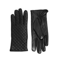Warehouse Quilted Leather Gloves