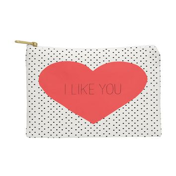 Allyson Johnson I Like You Pouch