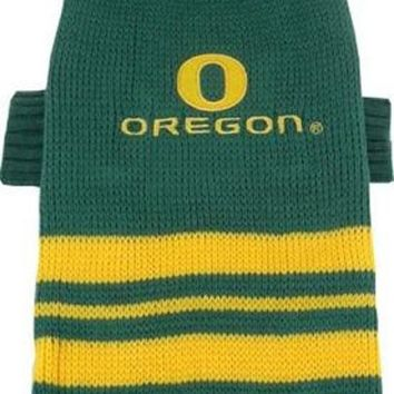 CUPUPHA Oregon Ducks Pet Sweater MD