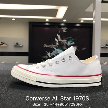 Converse Chuck Taylor All Star 1970s White  Low Canvas Shoes