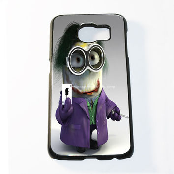 Minion Joker Samsung Galaxy S6 and S6 Edge Case