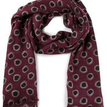 DCCKIN3 Paul Smith 'Yabba' polka dot scarf