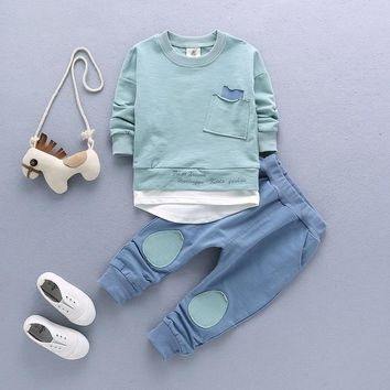 2Pc Toddler Baby Boys Outfit