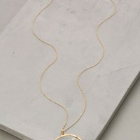 Catherine Weitzman Pressed Flower Pendant Necklace in Gold Size: One Size Necklaces