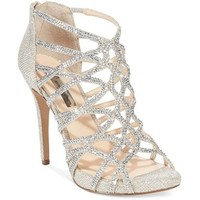 Inc International Concepts Women's Sharee High Heel Rhinestone Evening Sandals,