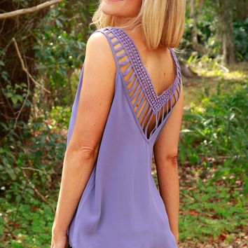 It's All In The Details Tank Lilac