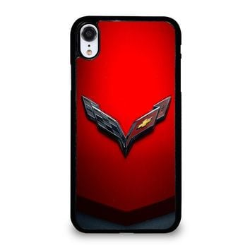 CORVETTE CHEVY STINGRAY RED iPhone XR Case Cover