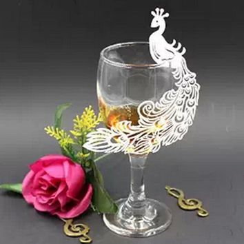 Party Glass Decorative Card