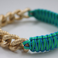 NEW Ocean Kiwi Splash Party Punch by PunchBracelets2012 on Etsy