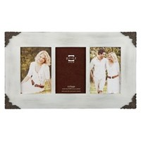 Lillie-Scrolls Wood Frame - White (4x6)