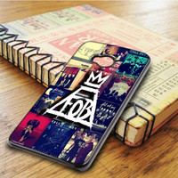 Fall Out Boy Collage Art HTC One M7 Case
