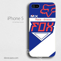camisa fox racing race-division iPhone 4/4 Case, iPhone 5/5s/5c case