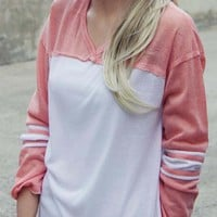 The Fenley Tee in Pink