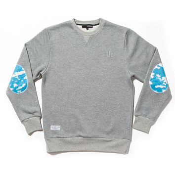Quiet Life: Cloud Professor Crewneck - Heather Grey