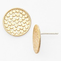 Women's Anna Beck 'Gili' Boxed Stud Earrings - Gold - Circle
