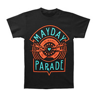 Mayday Parade Men's  All I Do T-shirt Black