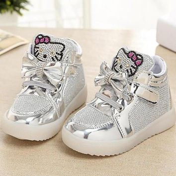 Hello Kitty LED Sneakers