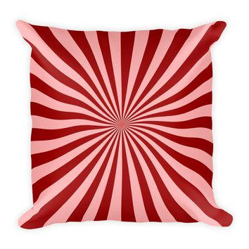 Cool Red Decorative Throw Pillow For Couch Chair Bed, Cushion Accent
